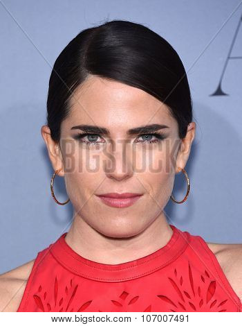 LOS ANGELES - OCT 26:  Karla Souza arrives to the InStyle Awards 2015  on October 26, 2015 in Hollywood, CA.