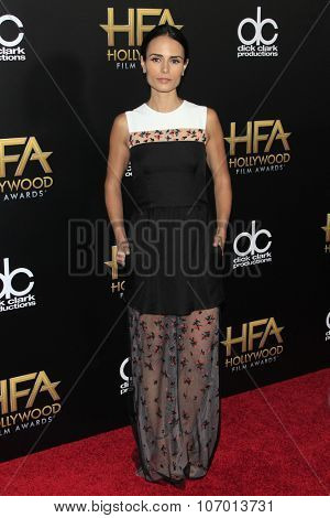 LOS ANGELES - NOV 1:  Jordana Brewster at the 19th Annual Hollywood Film Awards at the Beverly Hilton Hotel on November 1, 2015 in Beverly Hills, CA