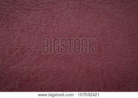 Vinous Leather Surface