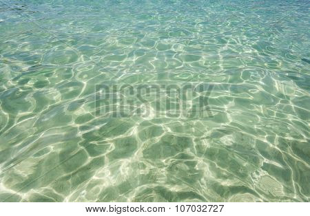 background sand on the beach water