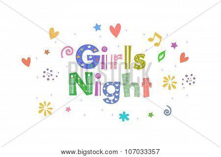 Girls Night Message