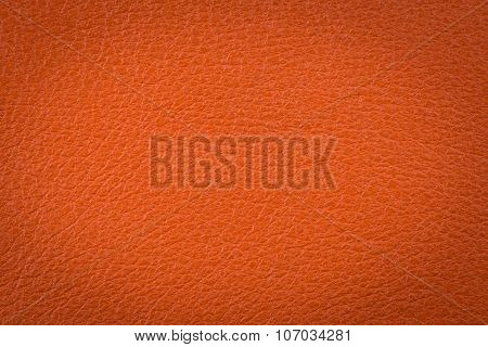 Orange Leather Surface