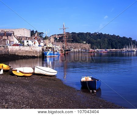 Conwy harbour, Wales.