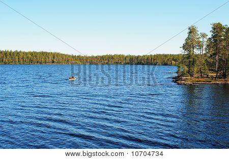 Blue Wild Lake