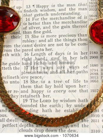 Rubies On Bible