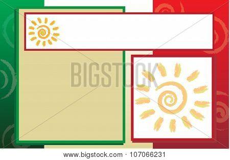 Postcard Hispanic Border Background.eps