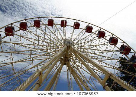 Ferris wheel in Freemantle