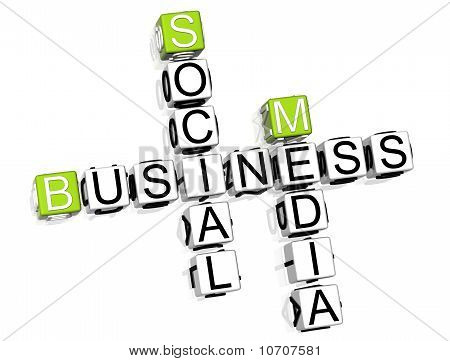Business Social Media kruiswoordraadsel