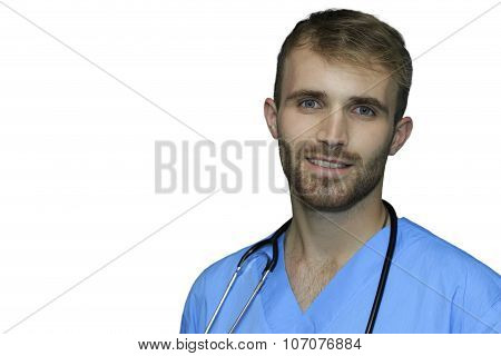 Handsome Doctor Isolated