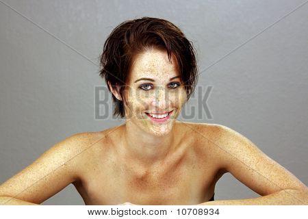 Beautiful Brunette Headshot