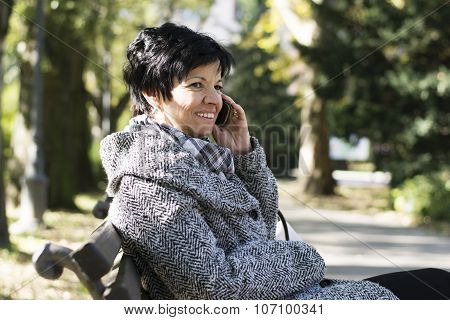Senior Woman Using New Technology Devices