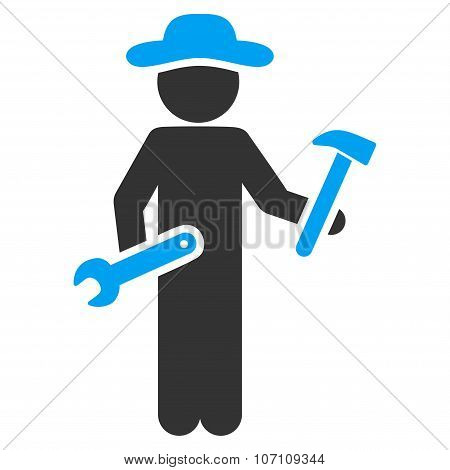 Human Figure Serviceman Icon