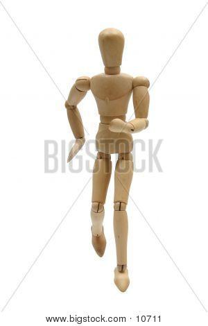 Running Mannequin Front