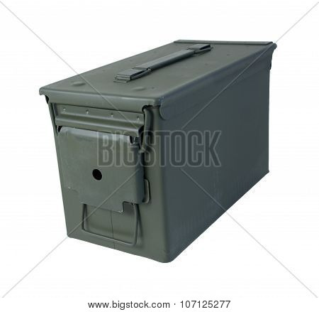 Closed Military Ammunition Case