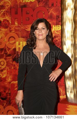 LOS ANGELES - SEP 20:  Marcia Gay Harden at the HBO Primetime Emmy Awards After-Party at the Pacific Design Center on September 20, 2015 in West Hollywood, CA
