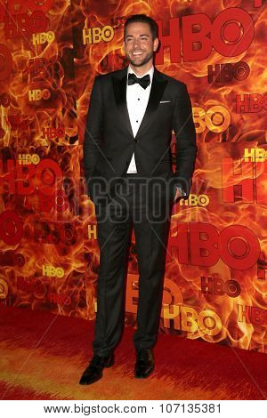 LOS ANGELES - SEP 20:  Zachary Levi at the HBO Primetime Emmy Awards After-Party at the Pacific Design Center on September 20, 2015 in West Hollywood, CA