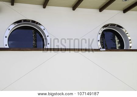 Two Porthole In The Ship
