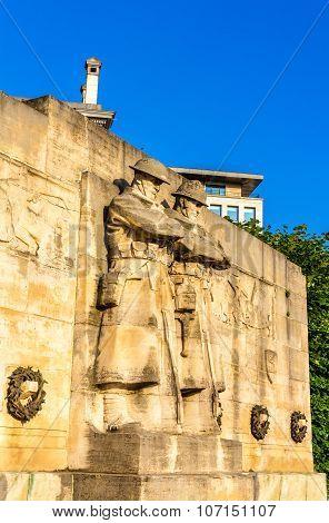 The Anglo-belgian War Memorial In Brussels