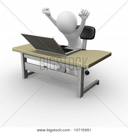 Computer worker success