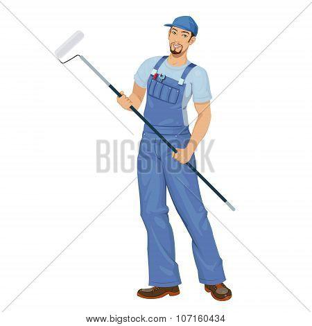 man working painter
