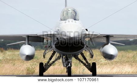 Nato F-16 Fighter Jet