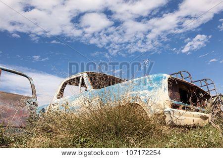 Abandoned American Pickup Truck