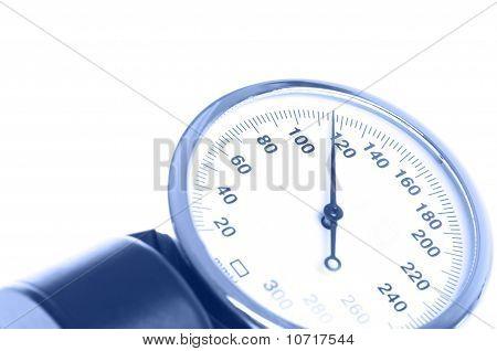 Medical Manometer Closeup