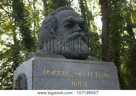 Karl Marx monument