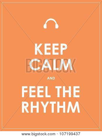 feel the rhythm abstract background, eps10, vector design
