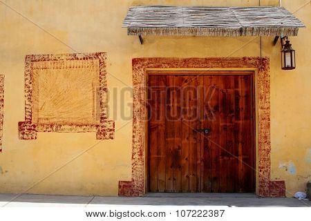 Pueblo Doorway