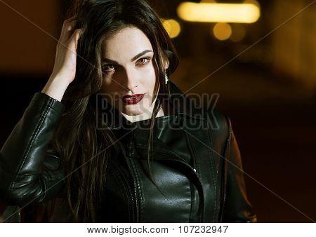 Mysterious Beautiful Girl.