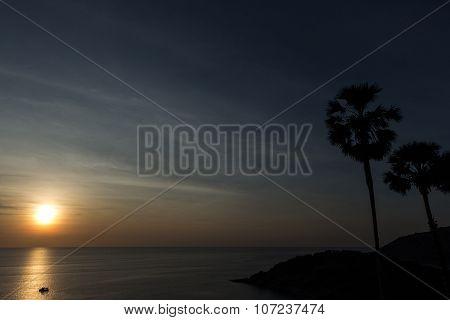 Sunset Phromthep Cape