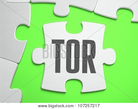 TOR - Jigsaw Puzzle with Missing Pieces.