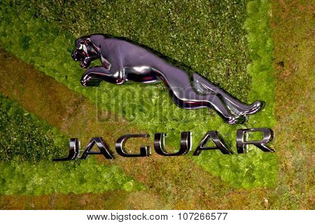 LOS ANGELES - MAY 2:  Jaguar Emblem at the Jaguar North America and Britweek Present