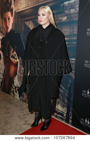 LOS ANGELES - NOV 6:  Hayley Hasselhoff at the Battersea Power Station Global Launch Party at the The London on November 6, 2014 in West Hollywood, CA