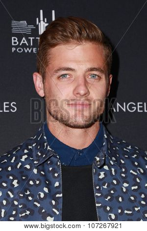 LOS ANGELES - NOV 6:  Robbie Rogers at the Battersea Power Station Global Launch Party at the The London on November 6, 2014 in West Hollywood, CA