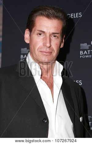 LOS ANGELES - NOV 6:  Francis O'Toole at the Battersea Power Station Global Launch Party at the The London on November 6, 2014 in West Hollywood, CA