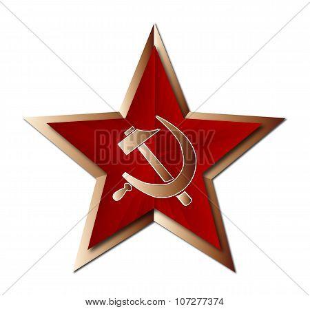 Soviet Badge Insigni
