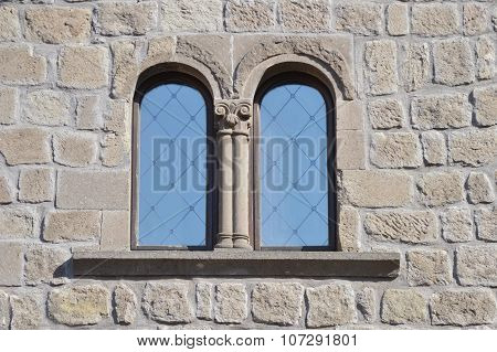 Double Arched Window