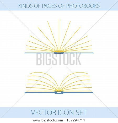 Icons Of Type Of Photobooks Page