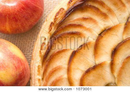 Apple Tart Abstract