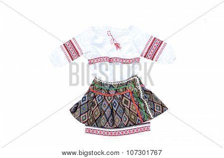 Ukrainian National Dress For Girl