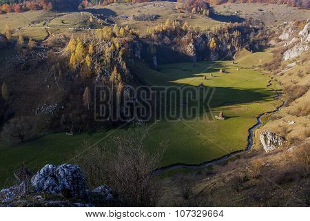 Romanian Lanscape With Hills