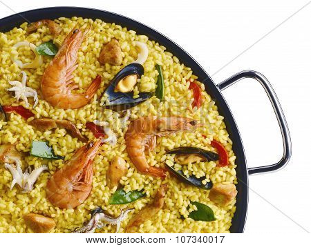 Classic Seafood Paella