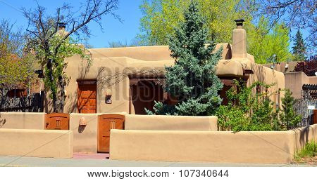 Historic adobe house