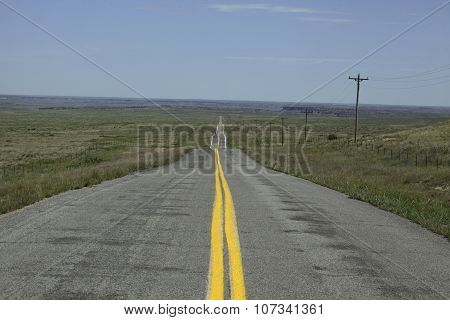 Road In Oklahoma