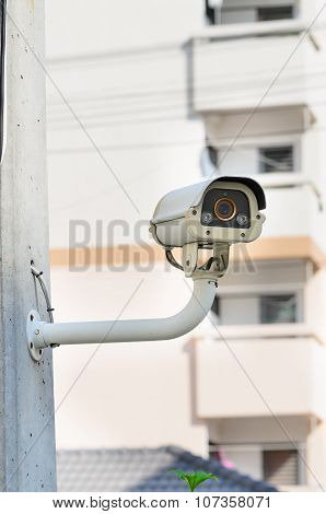 CCTV Security camera.
