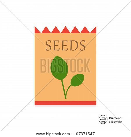 Seed packet icon