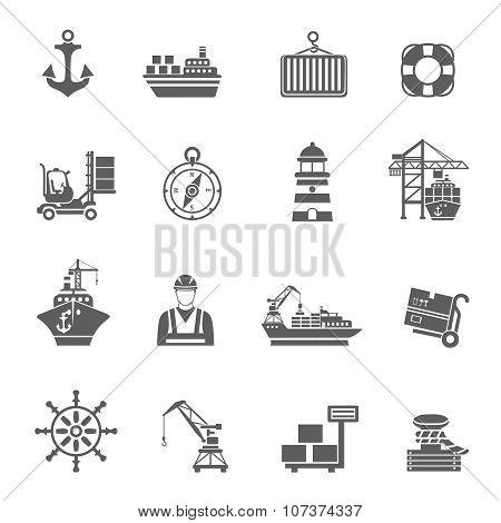 Sea Port Icons