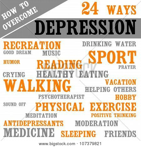 Methods How To Overcome Depression